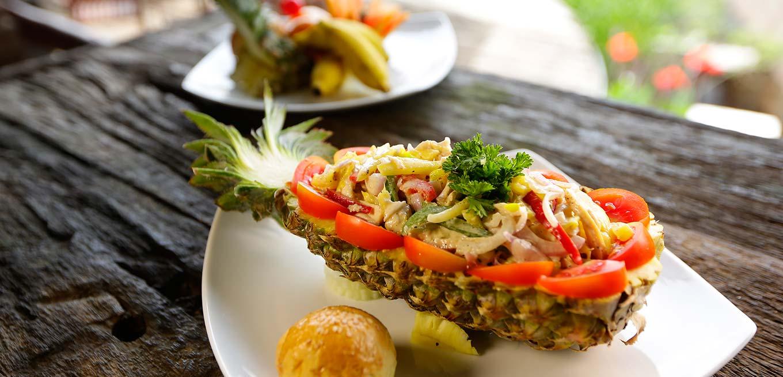 Signature Salads at 98 Acres Resort & Spa