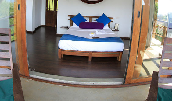 Overview of Standard Room at 98 Acres Resort
