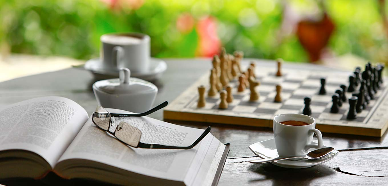 Warm cup of tea at 98 Acres Resort