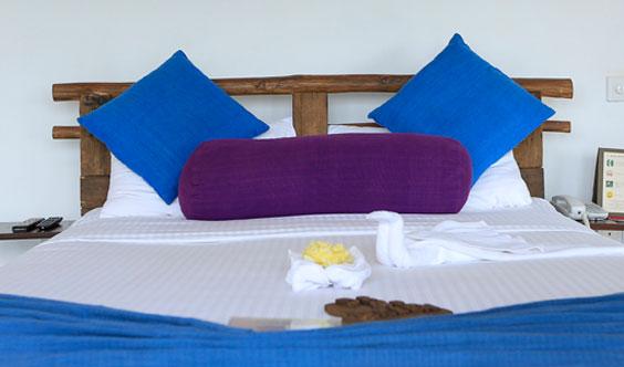 Standard Room Bedroom at 98 Acres Resort