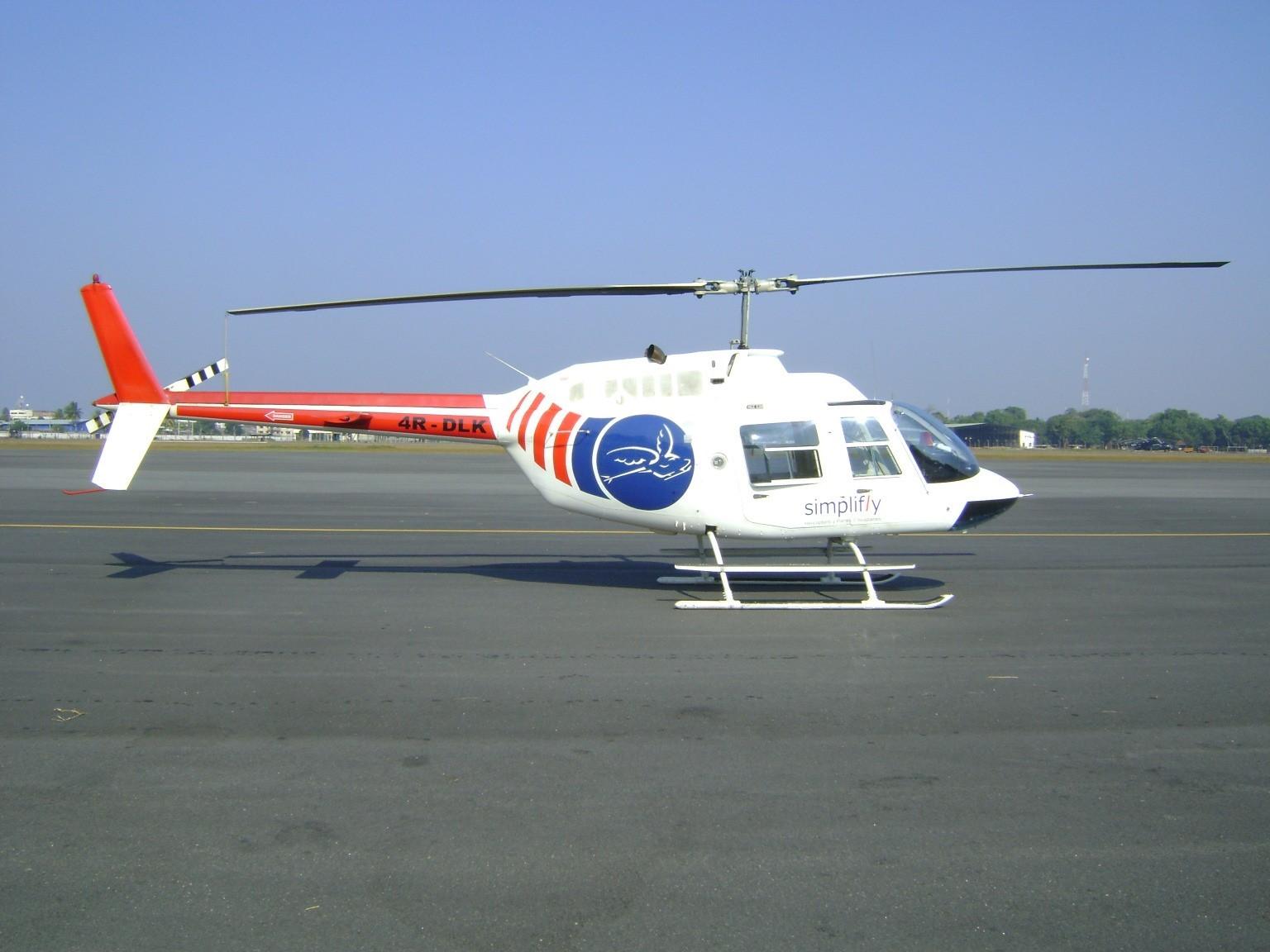 BELL 206 B3 JET RANGER HELICOPTER