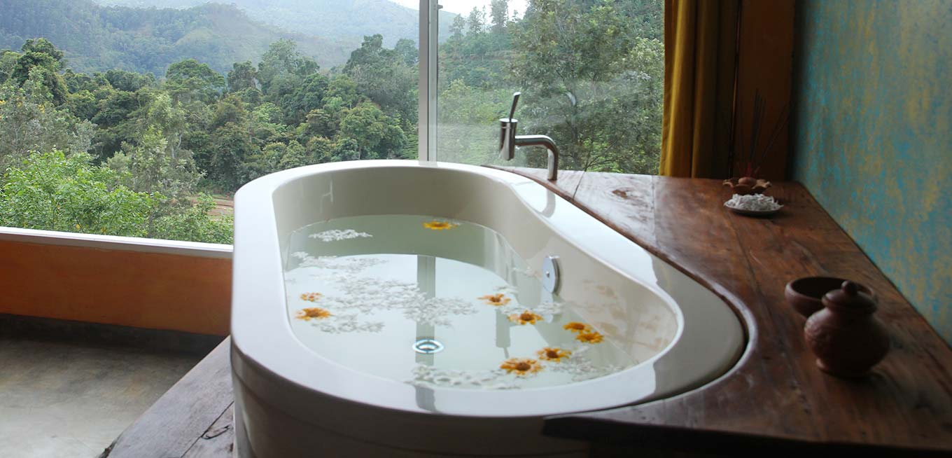 Spa Room Tub at 98 Acres Resort