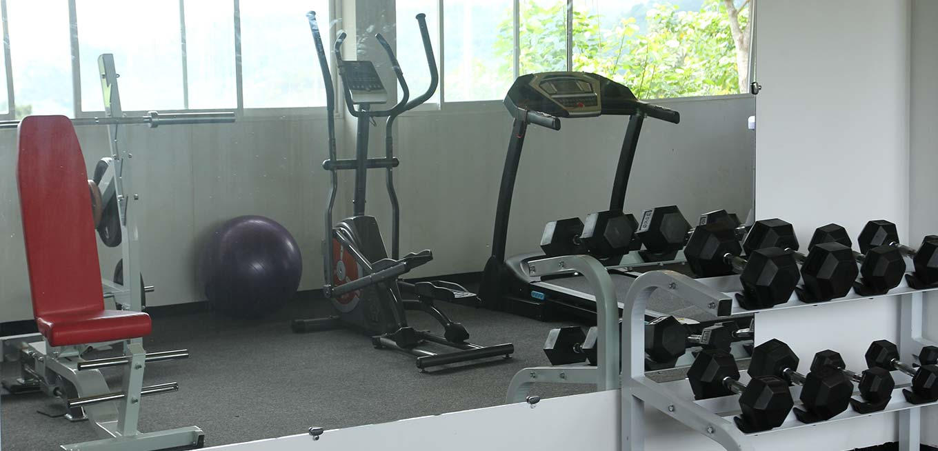 Gym at 98 Acres Resort & Spa