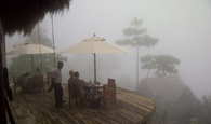 Misty climate at 98 Acres Resort & Spa