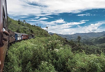 Ride on spectacular rail lines in Ella