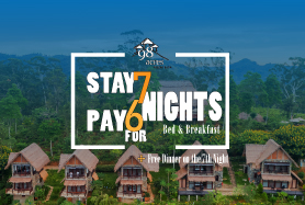 Stay 7 nights & Pay for 6